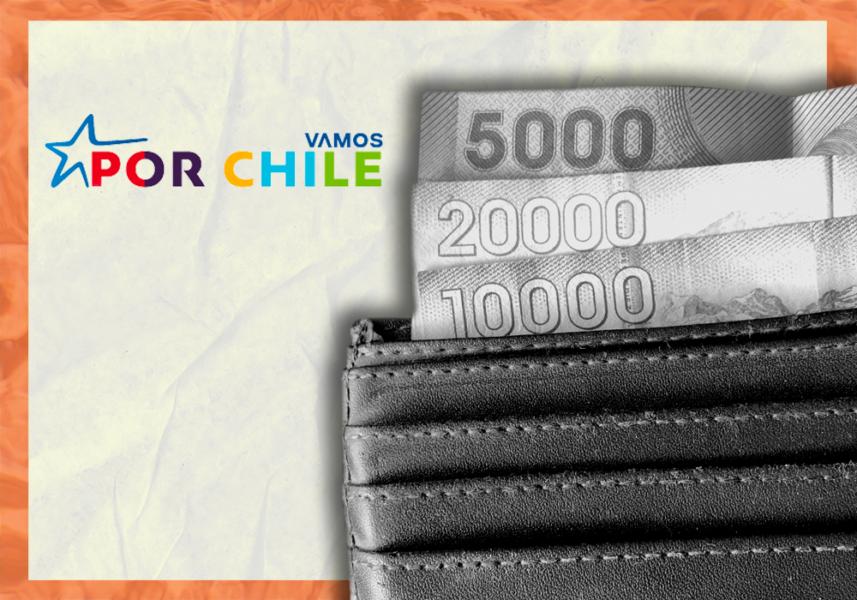 La declaración de patrimonio de los constituyentes de Vamos por Chile