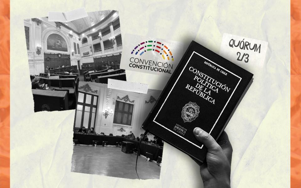 La Convención opta por mantener los 2/3 de quórum para las normas constitucionales