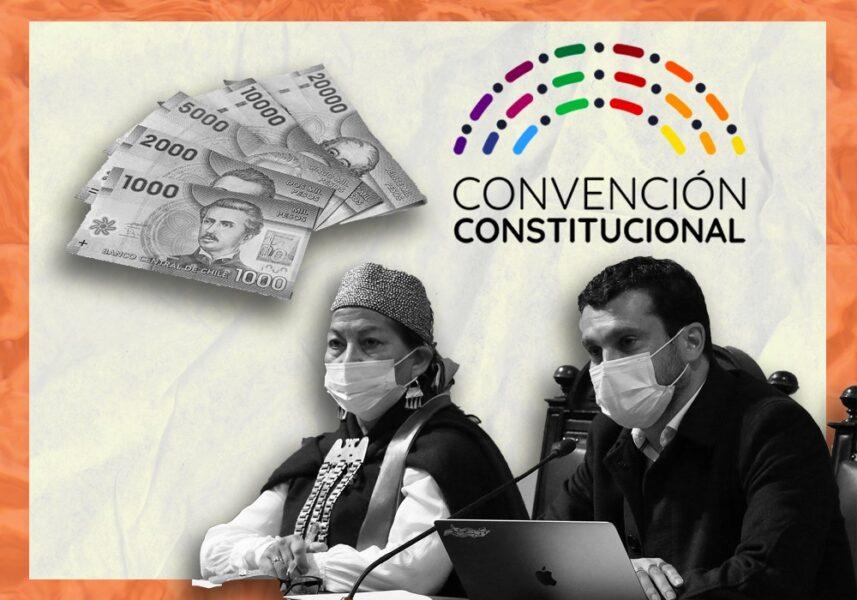 Los gastos de la Mesa de la Convención Constitucional en el primer mes de trabajo