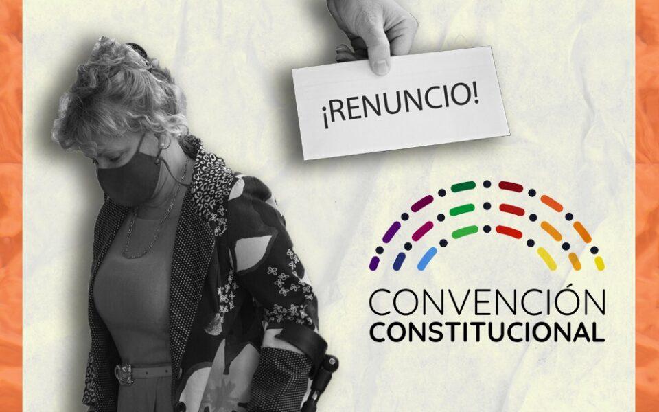 Los hitos de la renuncia de Catalina Parot a la Secretaría Ejecutiva de la Convención