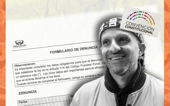Mesa directiva de la Convención denuncia ante Fiscalía a Rodrigo Rojas