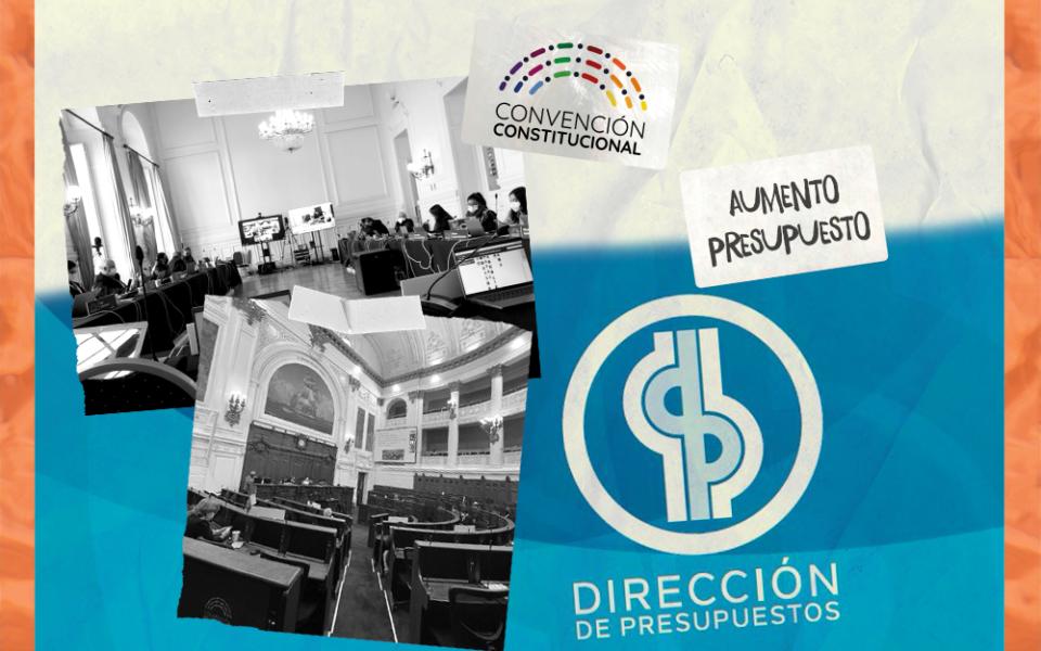 La Dipres rechazó el aumento de las asignaciones para la Convención Constitucional