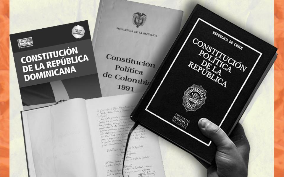 La supuesta relación entre los países con más y menos constituciones