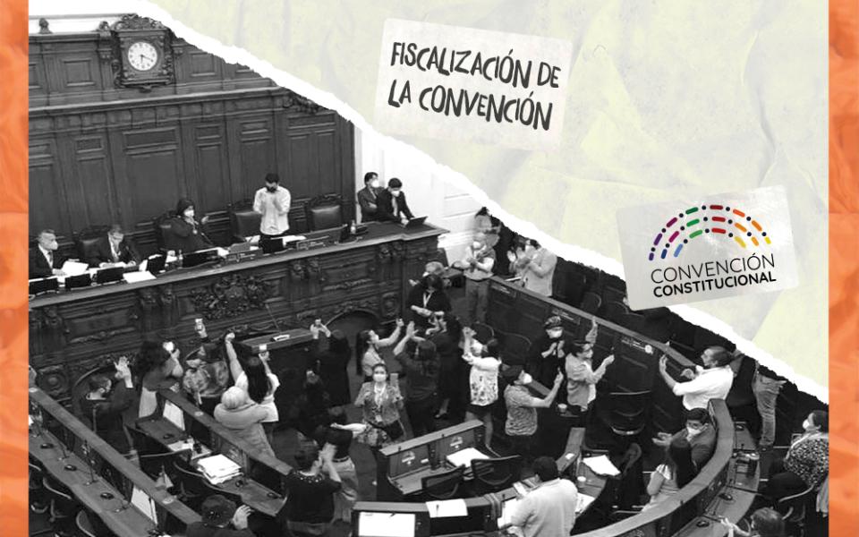 ¿Quién fiscaliza a la Convención Constitucional?